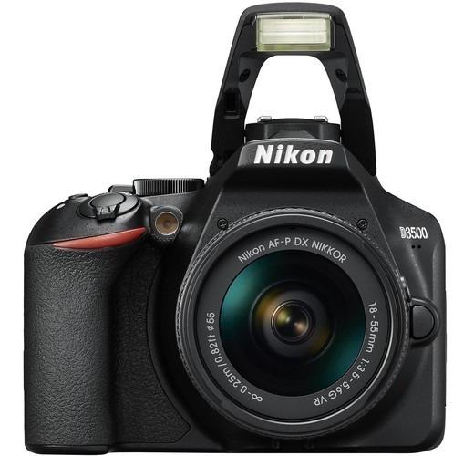 Câmera Nikon D3500 Com Lente Af-p Dx 18-55mm - Lj. Platinum