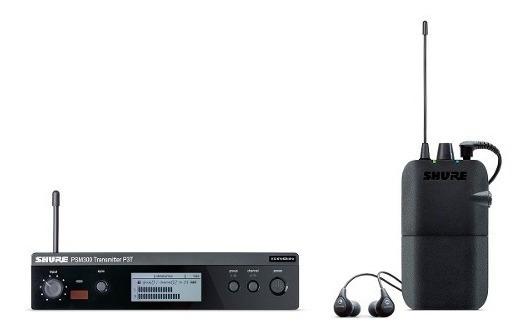 Ponto Eletrônico Sem Fio C/ Fone In-ear Psm 300 112gr Shure