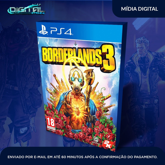 Borderlands 3 Ps4 Psn Midia Digital Completo Envio Agora!