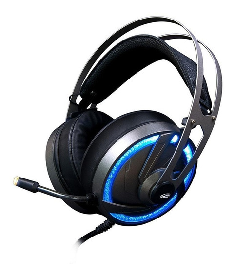 Headset Gamer Fone Pc Celular Ps4 Pro Xbox Rgb Led Microfone