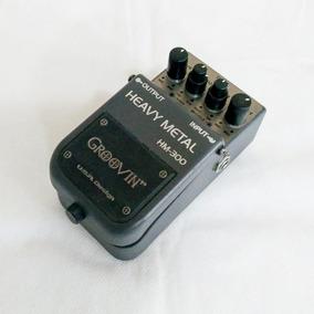 Pedal Distorção Guitarra Groovin Hm-300 Heavy Metal Usado