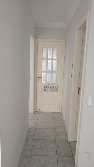 Apartamento Com 3 Dormitórios Para Alugar, 75 M² Por R$ 1.480,00/mês - Morumbi - São Paulo/sp - Ap15155