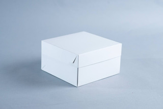 Caja Mediana 18x18x10 Cm (x 50u.) Tortas Postres Sandwich Lunch Regalos - Bauletto