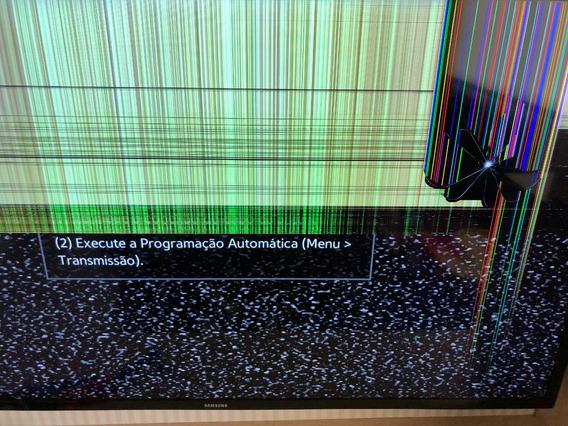 Vendo Smart Tv Samsung 32 Com Tela Quebrada