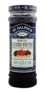 St. Dalfour Mermelada Cuatro Frutas Sin Azúcar Frasco 284g