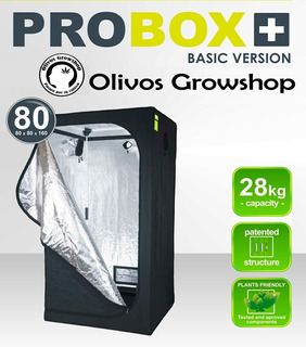 Carpa Cultivo 80 Garden High Pro 80x80x1.60 - Olivos Grow