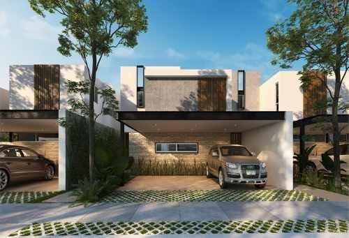 Hermosa Casa En Venta En Temozon Norte