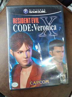 Resident Evil Code Veronica Nintendo Gamecube