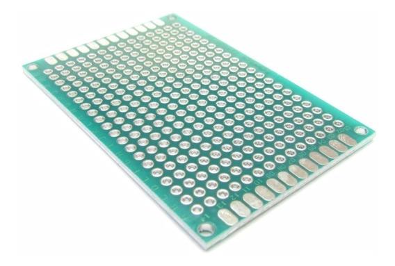 Placa Universal Pcb Perfurada Dupla Face 4x6cm - Eletrônica