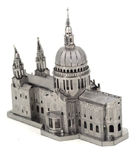 Catedral St Paul Rompecabezas Metálico 3d En Stock! Envío Ya