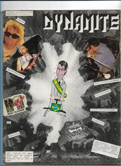 Revista Dynamite 3 Golpe Estado Rdp Nirvana Mtv Hollywood Ro