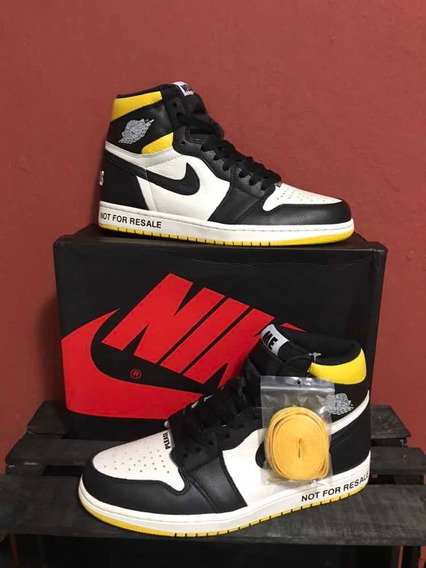 Sneakers Jordan 1 Retro High Not For Resale Amarillo 1.1 Ua