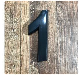 Número Residencial Preto 14cm De Altura