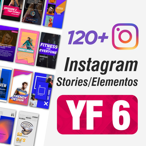 Projetos After Effects Instagram Stories Yf6 Animados Motion 120+