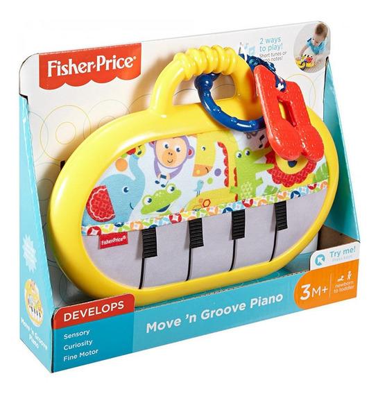 Piano Baila Conmigo Fisher Price + 3 Meses Juguete Bebes