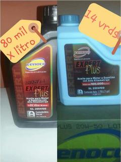 Aceite 20w50 Mineral Venoco Sellados ( 80 Mi.l X Litro)