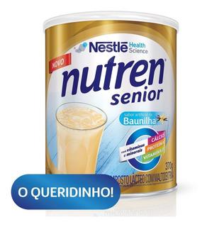 Suplemento Alimentar Nestlé Nutren Senior Baunilha 370g