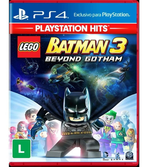 Jogo Lego Batman 3 Beyond Gotham Playstation Hits Ps4 Novo