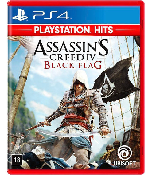 Assassins Creed Iv Black Flag Ps4 Mídia Física Português