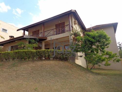 Casa Residencial À Venda, Alphaville Campinas, Campinas. - Ca2506