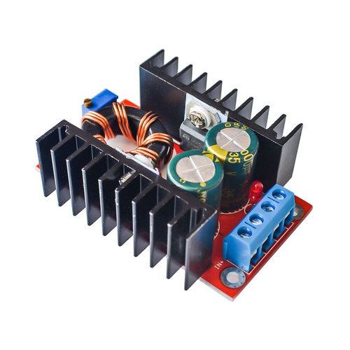 Convertidor Elevador Dc/dc 150w 12v In, 35 Out, Refactronika