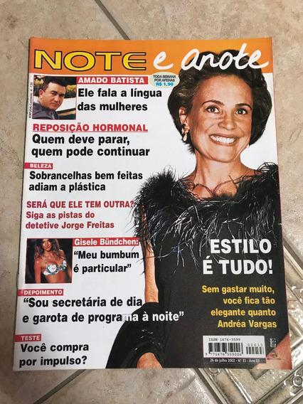 Revista Note E Anote 33 Andréa Vargas Amado Batista Gisele