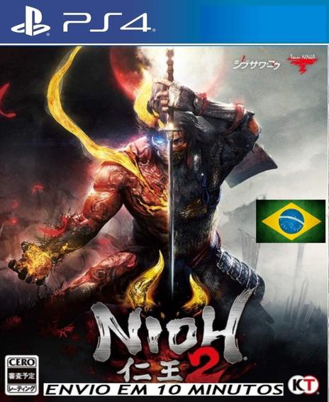 Nioh 2 Ps4 Digital 1ª Legendado Em Português