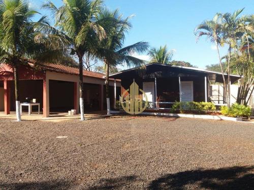Imagem 1 de 12 de Chácara Com 4 Dormitórios À Venda, 5000 M² Por R$ 1.500.000,00 - (l-11) - Ribeirão Preto/sp - Ch0010