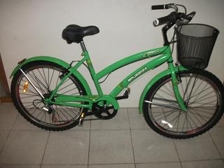 Bicicleta Paseo Dama Bruzzoni Ciudad Rodado 26 6vel