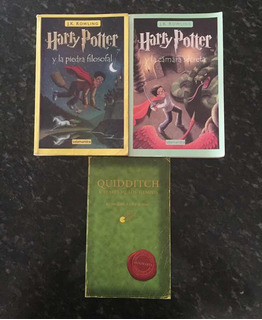 Harry Potter Libros (quidditch)