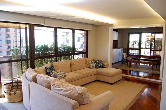 Apartamento Em Vila Andrade, São Paulo/sp De 310m² 4 Quartos Para Locação R$ 8.000,00/mes - Ap569331