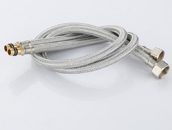 Mangueira Flexível Para Misturador Monocomando 60cm (par)