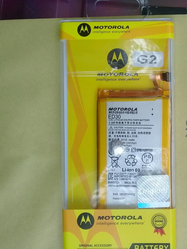 Batería Pila Moto G Moto G2 Original