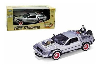 1/24 Delorean Volver Al Futuro 3 Welly