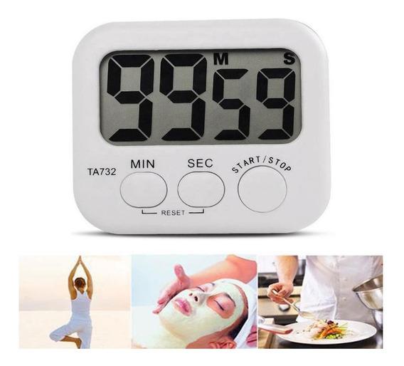 Timer Digital Temporizador Cocina Coccion Numeros Grandes