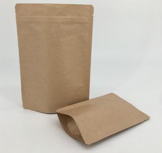 Embalagem Para Café Kraft 500 Grs Valvuladas - 10 Unidades