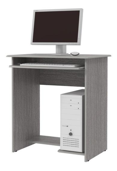 Mesa De Computador Mini Prática- Carvalho- Jel Móveis