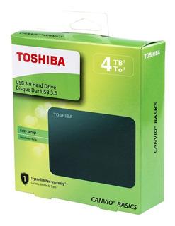 Disco Duro Externo Toshiba 4tb Canvio Usb 3.0