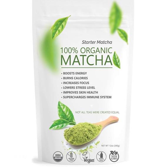 Te Matcha Organico 340 Gr - Unidad a $76000