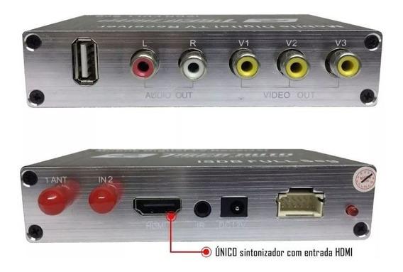 Receptor Tv Digital Full Hd Automotivo Central Multimidia