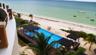 Increíble Penthouse Equipado Frente Al Mar En Super Playa De San Bruno
