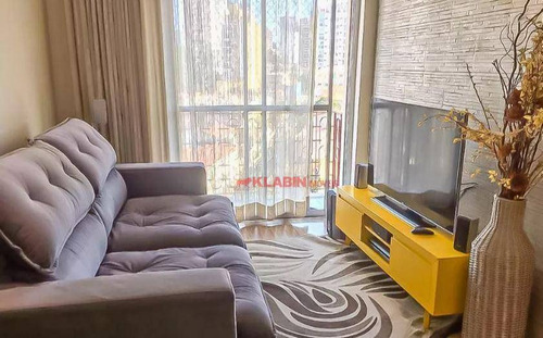 Apartamento Com 2 Dormitórios Para Alugar, 64 M² Por R$ 3.600,00/mês - Vila Mariana - São Paulo/sp - Ap10382