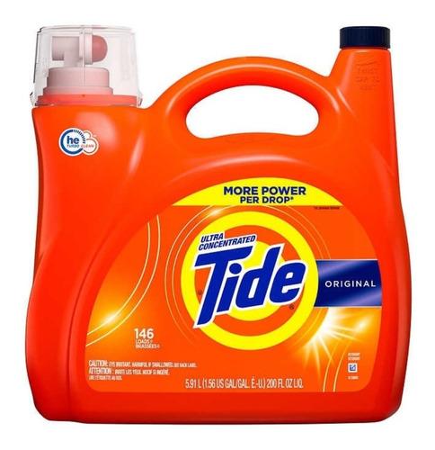 Detergente Tide Líquido 5.91 L - L a $19980