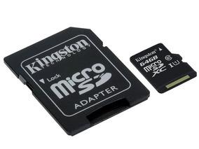 Cartão De Memória Kingston Microsdxc 64gb