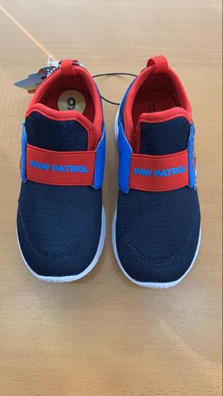 Zapatos De Paw Patrol De Niño Talla Us 9 Eu 26