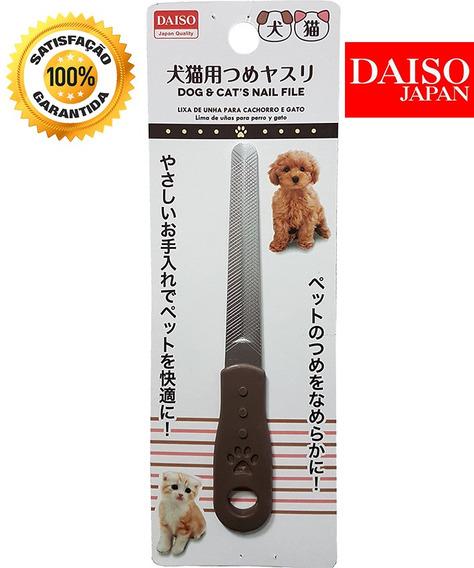Aparador Lixador Lixa Unhas Pet Cães Gatos Daiso Japão 20cm