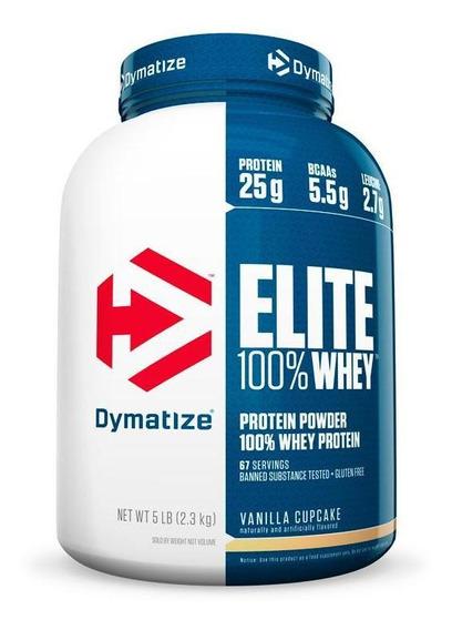 Elite Whey Protein (5lb/2268g) Dymatize
