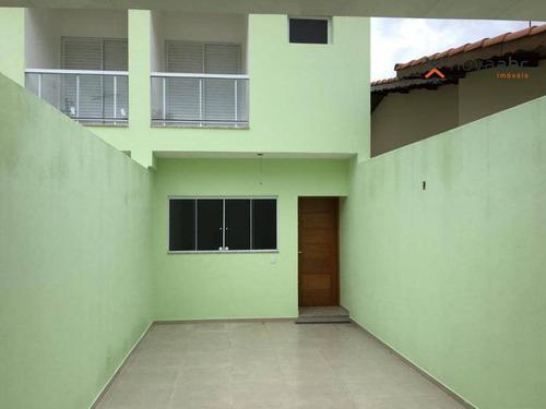 Imagem 1 de 21 de Sobrado Com 2 Dormitórios À Venda, 152 M² Por R$ 495.000,00 - Vila Lucinda - Santo André/sp - So0482
