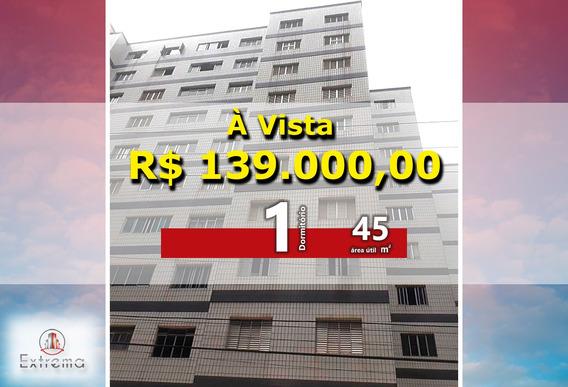 1 Dormitório À Venda, 45 M² Por R$ 139.000 - Ap1160