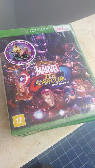 Marvel Vs Capcom Infinite Xbox One Lacrado